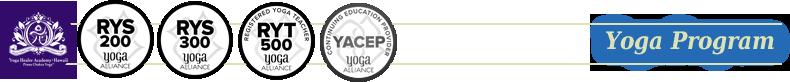 ヨガ・プログラム ロゴ