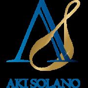Aki Solano ロゴ